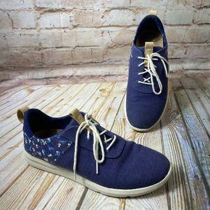 TOMS Canvas Oxfords Casual Shoes Flats Floral